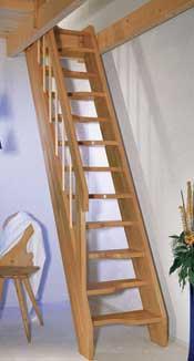 Ruimte besparende vaste trap top step for Van vlizo naar vaste trap
