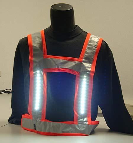 Veiligheidsvest met LED verlichting
